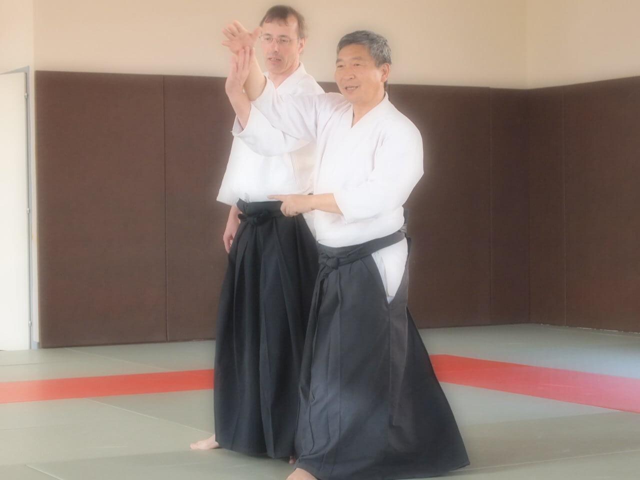 Doshu Kenjiro YOSHIGASAKI