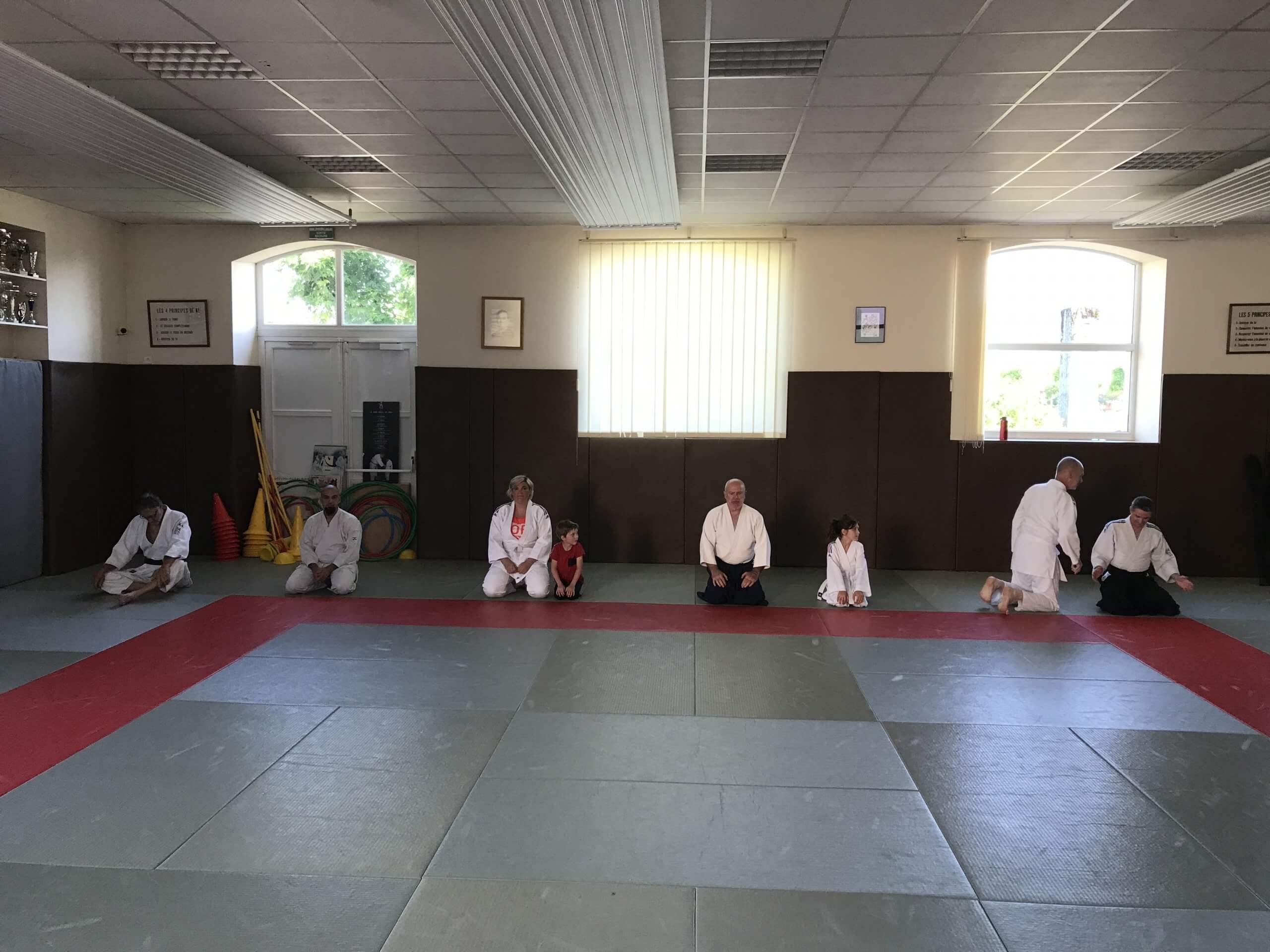 Reprise des cours d'Aikido à Ronchamp